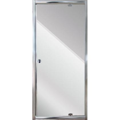 Aqualife HX-111 nyíló zuhanyajtó, 80x185 matt üveggel