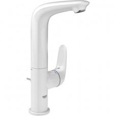 Grohe Eurostyle egykaros magasított mosdó csaptelep leeresztővel, fehér L méret 23718LS3