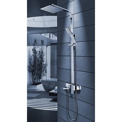 Navaro zuhany / kádtöltő csaptelep felső kifolyóval szögletes