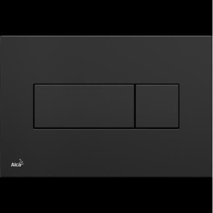 33b30e5acc Alcaplast M378 nyomólap falsík alatti rendszerekhez fényes fekete ...